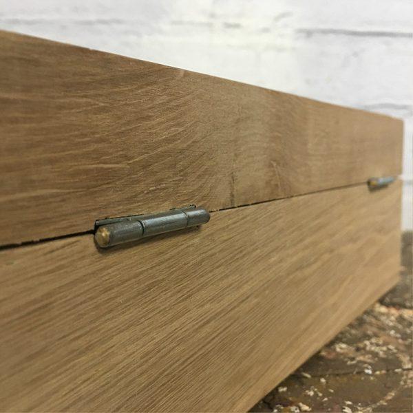 Luxe houten theekist Bedankthee!