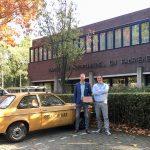 Dirk en Tim bij de KVK