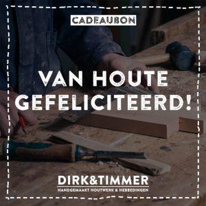 Cadeaubon Dirk&Timmer